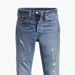 NWT 501® Button Your Fly Skinny Jeans